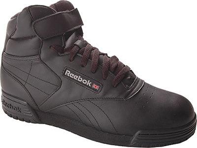 Reebok Ex-o-Fit Hi Clean Shoe