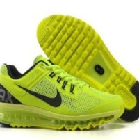 Boys Nike Air Max+ 2013 Volt Running Shoes