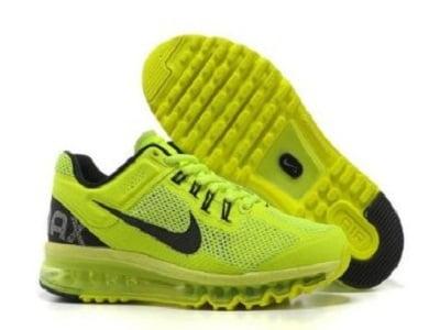 Boys Nike Air Max+ 2013 Volt Running Shoes
