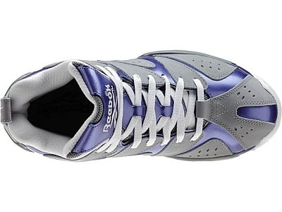 Reebok Men's Grey Kamikaze I PE Isaiah Thomas Basketball Shoes 2