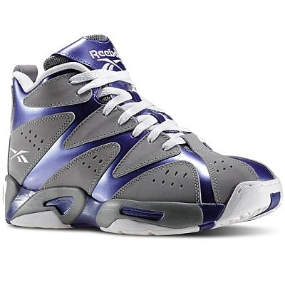 Reebok Men's Grey Kamikaze I PE Isaiah Thomas Basketball Shoes