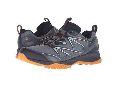 Merrell Men Athletic Shoes Capra Bolt Waterproof Hiking Shoe