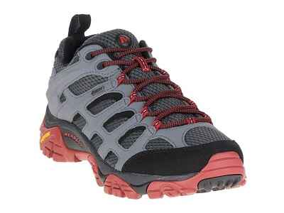 Merrell Mens Moab Gore-Tex Hiking Shoes Castle Rock