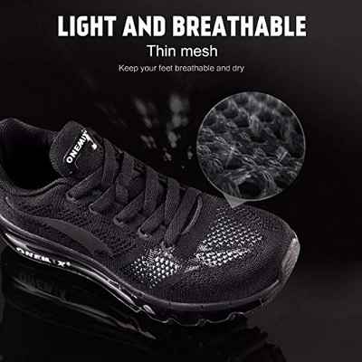 ONEMIX Men's Lightweight Air Max Cushion Sports Running Shoes