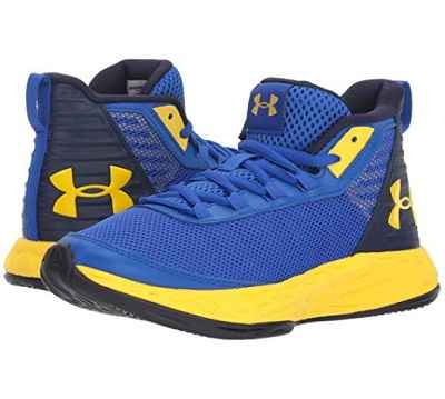 Under Armour Kids Grade School Jet 2018 Basketball Shoe 1