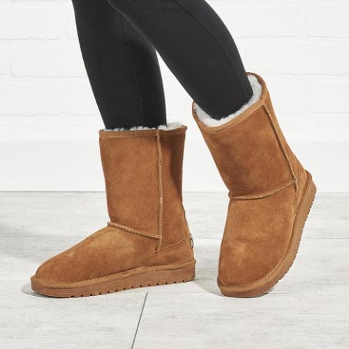 Genuine Sheepskin Boots