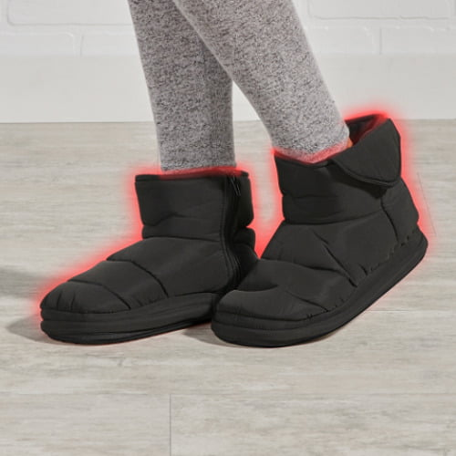 Indoor Outdoor Heated Slippers1