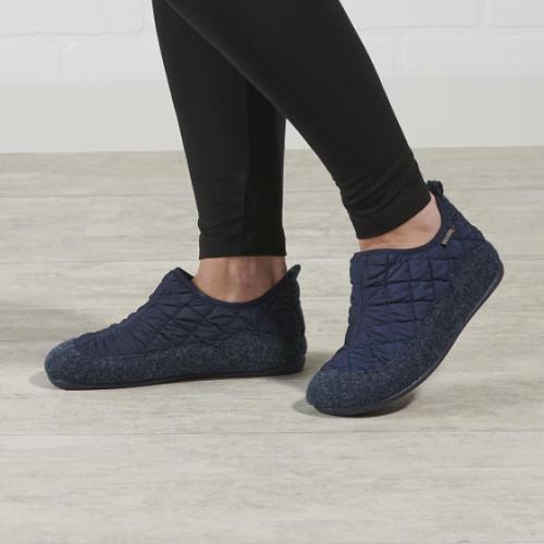 Indoor Outdoor Quilted Comfort Slippers1