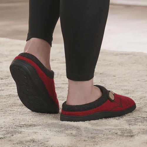 Indoor Outdoor Wool Slippers1